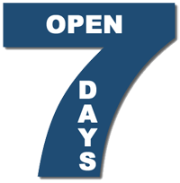 Seven days open  - RPM INFOVISION™